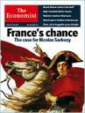 Couverture The Economist surSarkozy